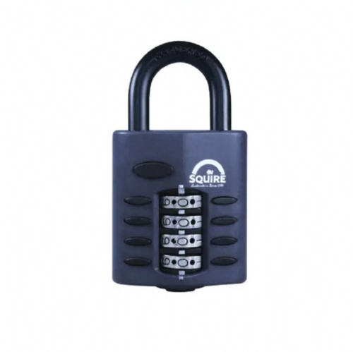 Squire CP50 Combination Padlock 4 Wheel 50mm
